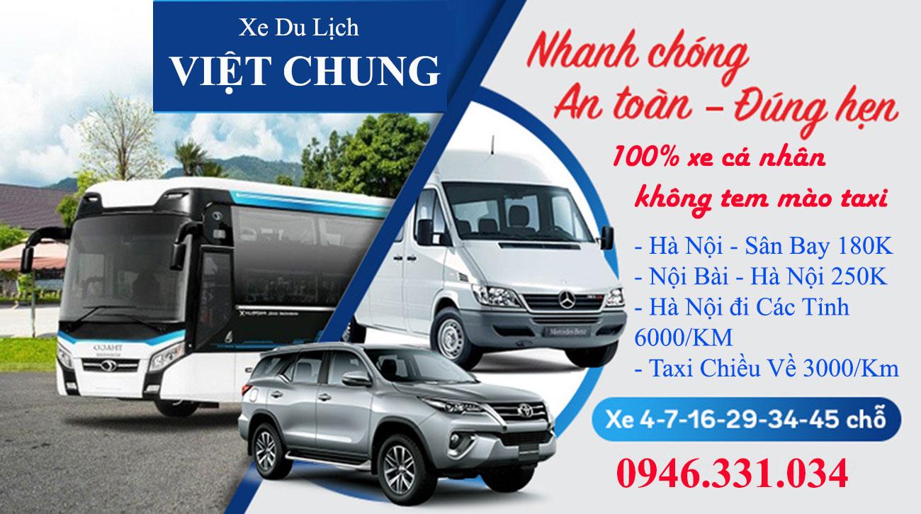 Xe du lịch Việt Chung